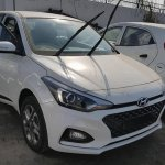 2018 Hyundai i20 facelift nose