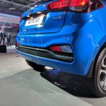 2018 Hyundai i20 (facelift) rear bumper at Auto Expo 2018