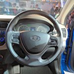 2018 Hyundai i20 (facelift) steering wheel at Auto Expo 2018
