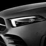 2018 Mercedes A-Class Edition 1 headlamp