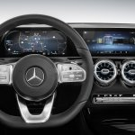 2018 Mercedes A-Class dashboard driver side
