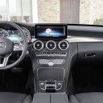 2018 Mercedes C-Class Estate (facelift) dashboard interior