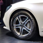 2018 Mercedes S-Class alloy wheel