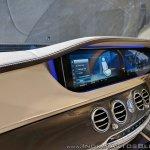 2018 Mercedes S-Class interior dashboard