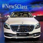 2018 Mercedes S-Class front view
