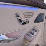 2018 Mercedes S-Class interior door panel