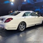 2018 Mercedes S-Class rear angle
