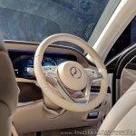 2018 Mercedes S-Class interior rear steering wheel
