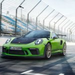 2018 Porsche 911 GT3 RS (facelift) front three quarters