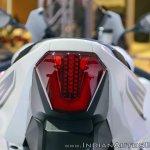 2018 Suzuki GSX-R1000R White tail light at 2018 Auto Expo