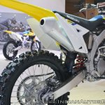 2018 Suzuki RM-Z250 exhaust at 2018 Auto Expo