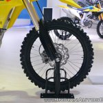 2018 Suzuki RM-Z250 front wheel at 2018 Auto Expo