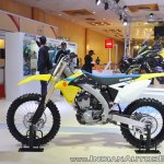 2018 Suzuki RM-Z250 left side at 2018 Auto Expo