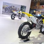 2018 Suzuki RM-Z250 rear right quarter at 2018 Auto Expo