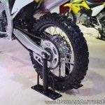 2018 Suzuki RM-Z450 rear wheel at 2018 Auto Expo