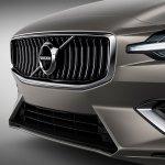 2018 Volvo V60 front fascia