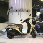 2018 Yamaha Fascino at 2018 Auto Expo