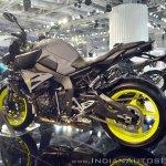 2018 Yamaha MT-10 rear left quarter at 2018 Auto Expo