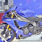 2018 Yamaha YZF-R1 left fairing at 2018 Auto Expo