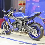 2018 Yamaha YZF-R1 rear left quarter at 2018 Auto Expo