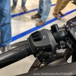2018 Yamaha YZF-R3 Black left switchgear at 2018 Auto Expo