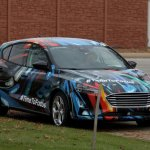 2019 Ford Focus camouflage front angle