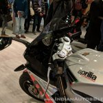 Aprilia RS 150 handlebars at 2018 Auto Expo