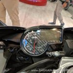 Aprilia RS 150 instrument cluster at 2018 Auto Expo