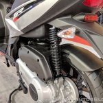 Aprilia SR 125 rear suspension at 2018 Auto Expo