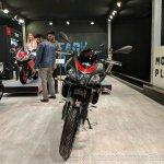 Aprilia Tuono 150 front at 2018 Auto Expo