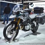BMW F 850 GS front left quarter at 2018 Auto Expo