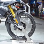 BMW F 850 GS front wheel at 2018 Auto Expo