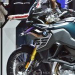 BMW F 850 GS fuel tank at 2018 Auto Expo