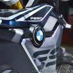 BMW F 850 GS logo at 2018 Auto Expo
