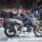 BMW F 850 GS right side at 2018 Auto Expo