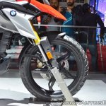 BMW G 310 GS front wheel at 2018 Auto Expo