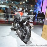 BMW G 310 GS rear left quarter at 2018 Auto Expo