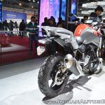 BMW G 310 GS rear right quarter at 2018 Auto Expo
