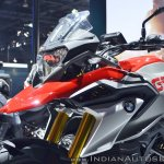 BMW G 310 GS tank extensions at 2018 Auto Expo