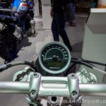 BMW R nineT Scrambler instrument cluster at 2018 Auto Expo