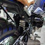 BMW R nineT Scrambler rear suspension at 2018 Auto Expo