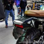 BMW R nineT Scrambler tail light at 2018 Auto Expo