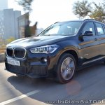 BMW X1 M Sport review front action shot