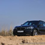 BMW X1 M Sport review front angle far