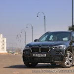 BMW X1 M Sport review front angle