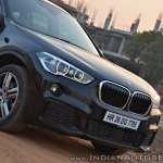 BMW X1 M Sport review nose section