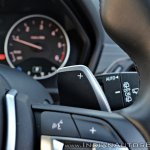 BMW X1 M Sport review paddle shifter