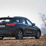 BMW X1 M Sport review rear angle low