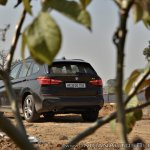 BMW X1 M Sport review rear angle