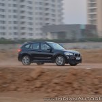 BMW X1 M Sport review side angle motion shot